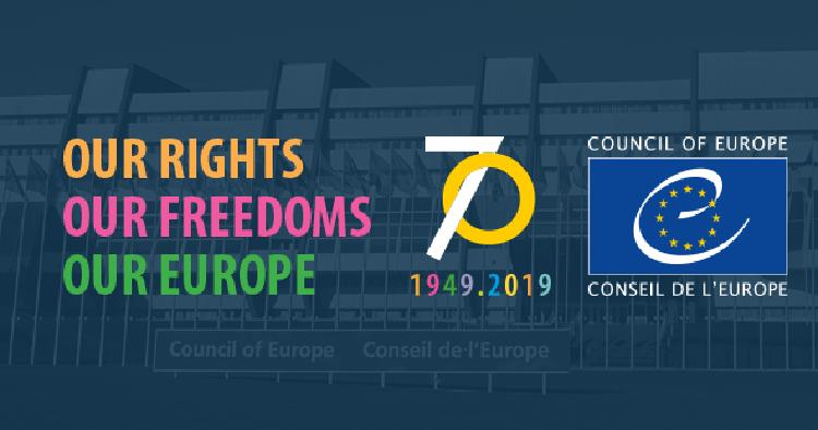 Déclaration commune  à l'occasion du 70e anniversaire du Conseil de l'Europe