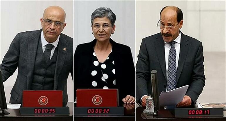Emprisonnement de trois parlementaires turcs de l'opposition