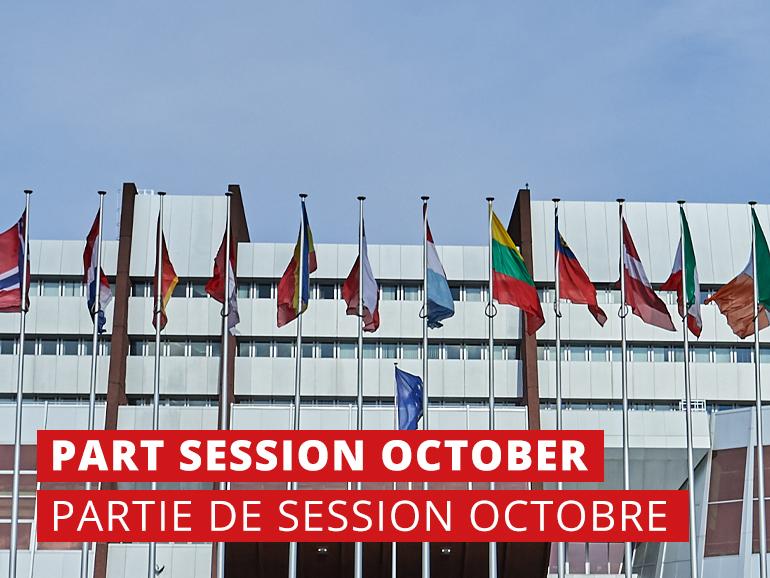 Partie de Session de l'APCE en Automne 2019